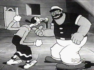 Bluto _and_ Popeye-Blow Me Down